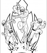 coloriage power ranger 081