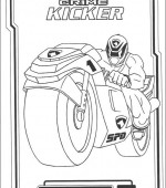 coloriage power ranger 086