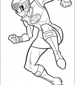 coloriage power ranger 090