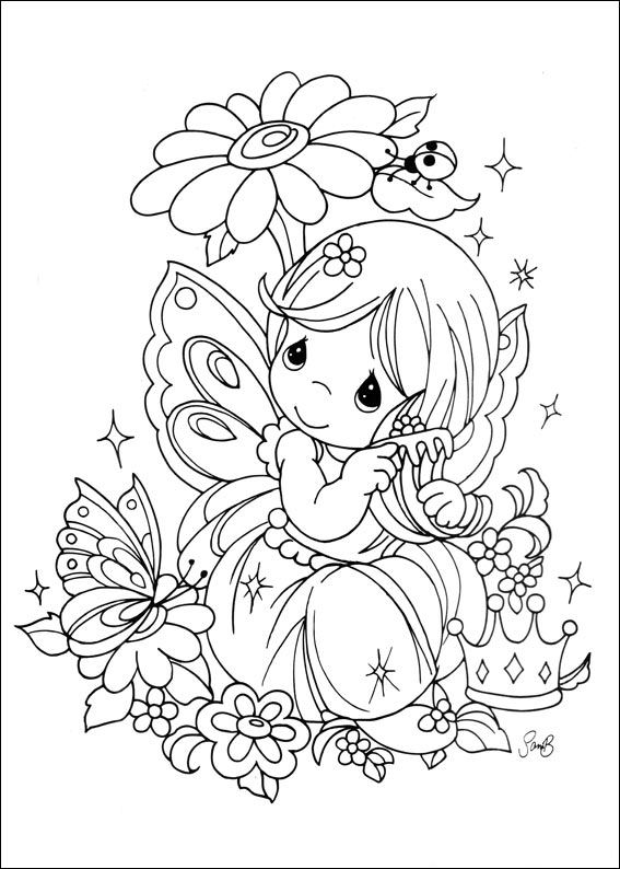 Precious Moments Alphabet Coloring Pages 27682, - Bestofcoloring ... | 794x567