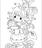 coloriage precious moments 007