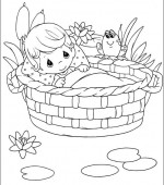 coloriage precious moments 010