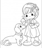coloriage precious moments 027
