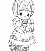 coloriage precious moments 029