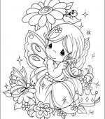 coloriage precious moments 033