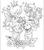 coloriage precious moments 037