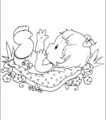 coloriage precious moments 039