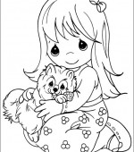 coloriage precious moments 040