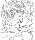 coloriage rocket power 023