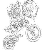 coloriage rocket power 029