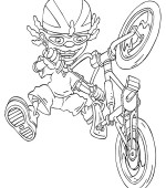 coloriage rocket power 030