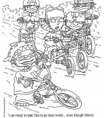 coloriage rocket power 031