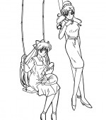 coloriage sailor moon 005