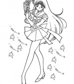 coloriage sailor moon 113