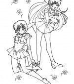 coloriage sailor moon 116
