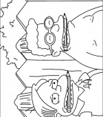 coloriage simpsons 036