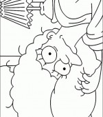 coloriage simpsons 047