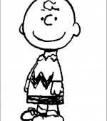 coloriage snoopy et charlie brown 002