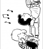 coloriage snoopy et charlie brown 003