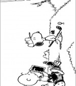 coloriage snoopy et charlie brown 006