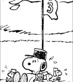 coloriage snoopy et charlie brown 007