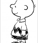 coloriage snoopy et charlie brown 008