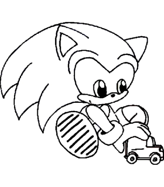 Kleurplaten Mario En Sonic.Index Of Coloriages Heros Tv Sonic