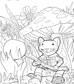 coloriage stuart little 006