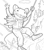 coloriage stuart little 015
