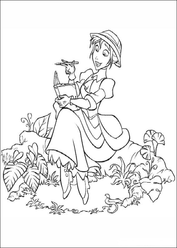 coloriage tarzan 023 - Coloriage Tarzan 3