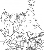 coloriage tom and jerry 030