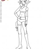 coloriage totaly spies 006