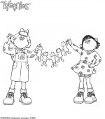 coloriage tweenies 009