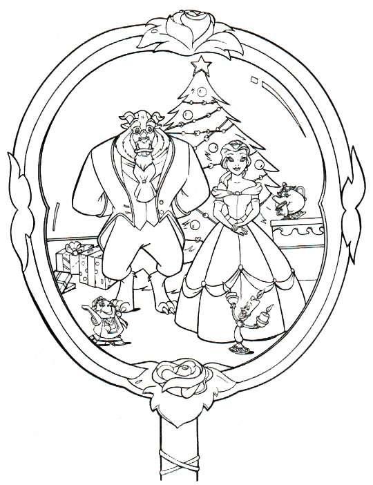 Index Of Coloriages Noel Noel Disney