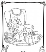 coloriage noel disney 000