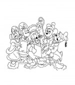 coloriage noel disney 034