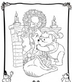coloriage noel disney 045