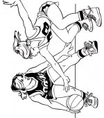 coloriage basketbal 001