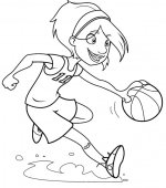 coloriage basketbal 003