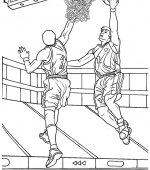 coloriage basketbal 006