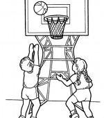 coloriage basketbal 008