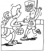 coloriage basketbal 011
