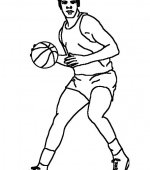 coloriage basketbal 013