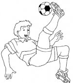 coloriage football 009