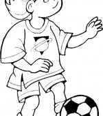 coloriage football 010