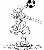 coloriage football 011