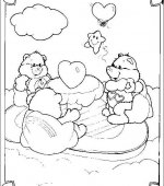 coloriage Bisounours 010