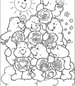 coloriage Bisounours 012