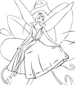 coloriage barbie fairytopia 012