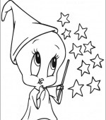 coloriage bebe looney tunes 002